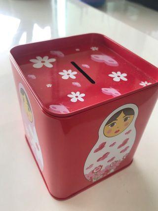 Coin box Russian doll