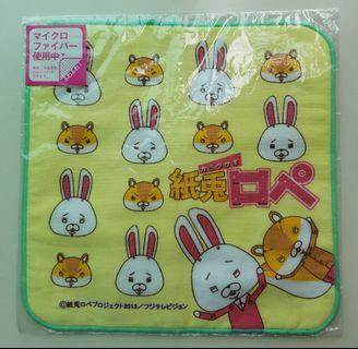 纸兔毛巾仔