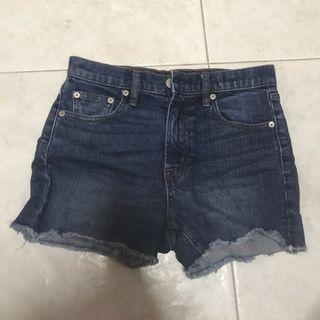 GAP Denim Shorts Dark Blue