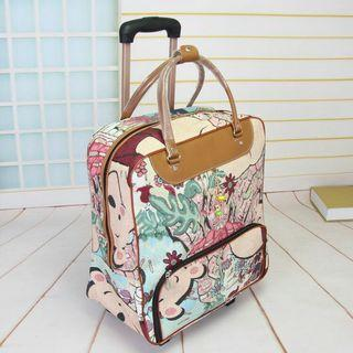 PRINTED TRAVEL LUGGAGE
