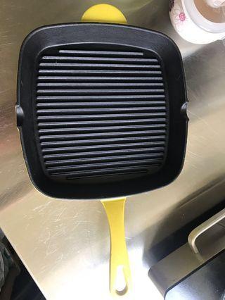 [西灣河地鐵站交收]Nutrifresh Grill Pan 黃色