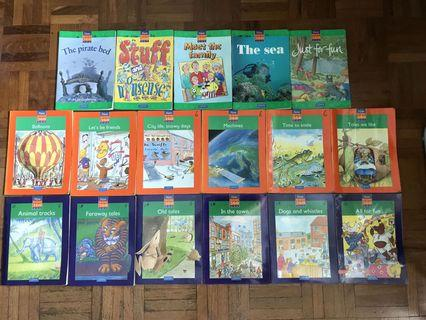 🚚 English books for pri 1-3