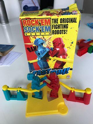Rock Em Sock Em Fighting Robots