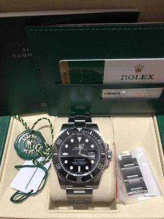 Rolex Sub Date 116610LN
