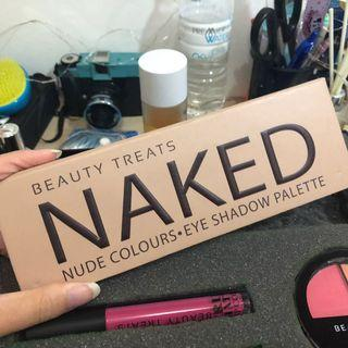 #maudandan Eyeshadow Palette Naked Beauty Treats