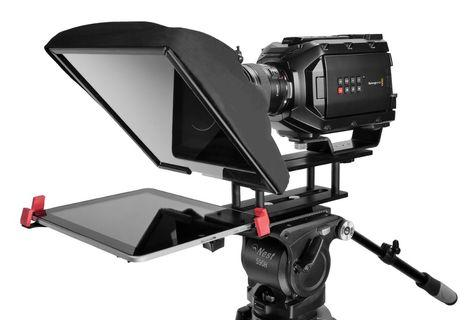 Teleprompter with flight case  for sale