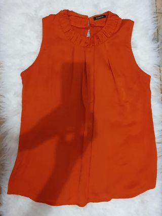 Orange Top / atasan orange *FREE ONGKIR*