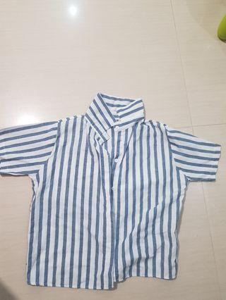 Cropped uzzlang shirt