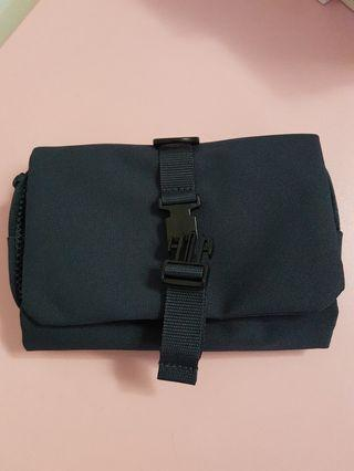 Muji travel pouch