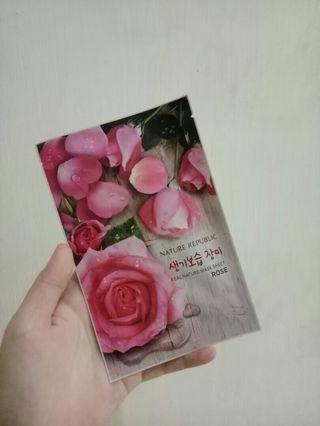 Nature Republic Rose Sheet Mask