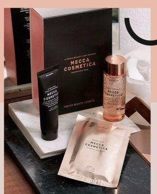 Mecca Cosmetica Essentials Trio