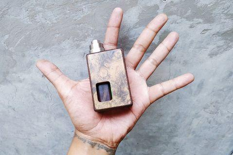 Matchbox Mods Mechanical 18650 Squonk with Mulciber RDA