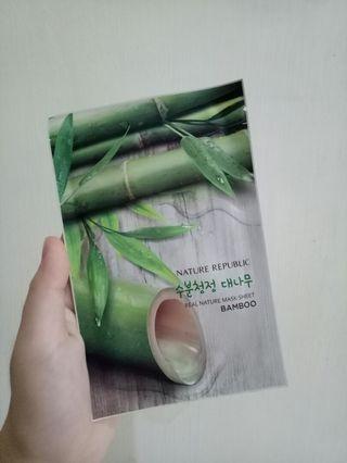 Nature Republic Bamboo Sheet Mask