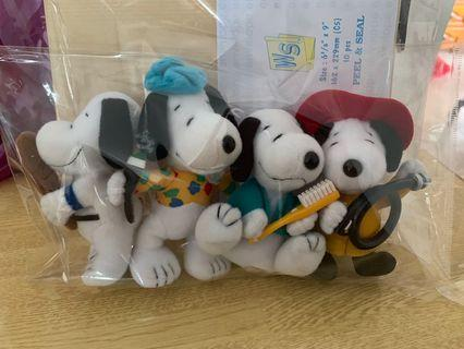 Snoopy Set of 4