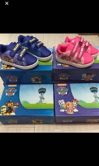 Authentic paw patrol cover shoe limited stock left for blue -size 27/28/29 and pink left -25 .. pm me for details