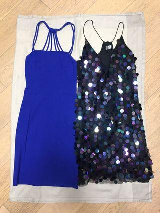 H n M Party and summer dresses! Size 34 (Size S)! Perfect condition!