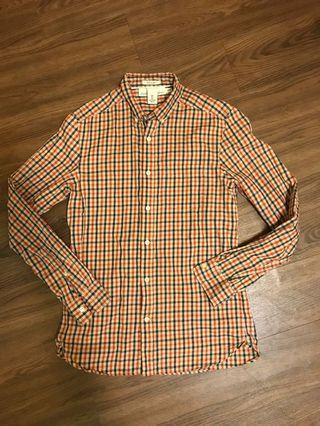 🚚 H&M復古風格子襯衫s