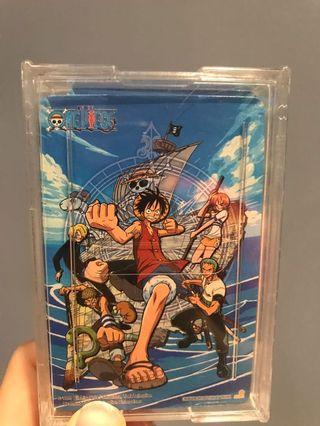 🚚 (九成新)海賊王撲克牌