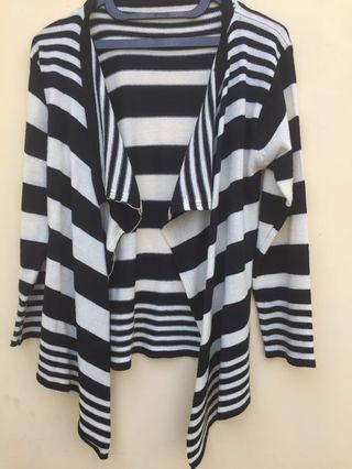 Stripes Cardigan Import