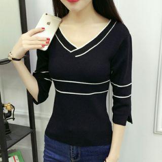 Korean Stylish Black Top