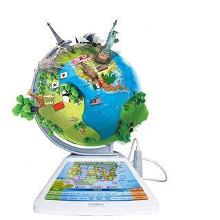 Oregon Scientific SG268R Smart Globe Adventure AR Educational World Geography Kids - Learning Toy