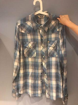 🚚 Salt Valley Western 夏日男版襯衫(正品)
