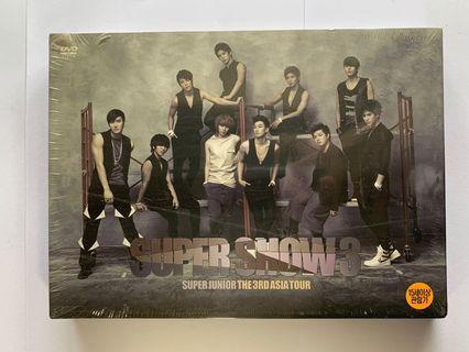Super Junior Super Show 3 DVD Concert Video