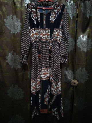 🚚 CLEARANCE $10 CHIFFON BATIK DRESS