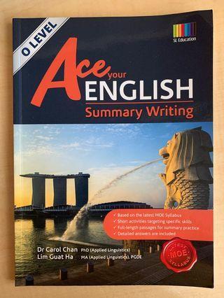 🚚 O level English Summary Writing