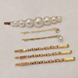 Pearl Hairpin Set✨