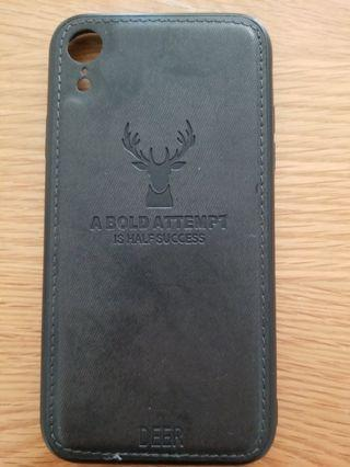 IPhone XR 型格黑色手機殼 連包裝袋(95%NEW)