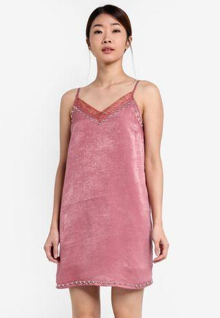Something Borrowed Pink Slip Dress