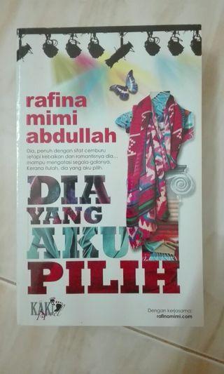 Novel Dia Yang Aku Pilih