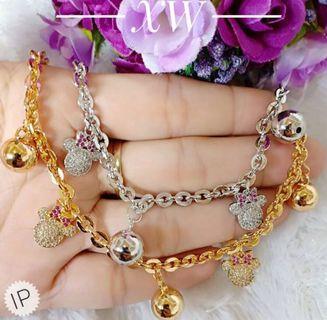 Gelang Rantai Gold,Silver