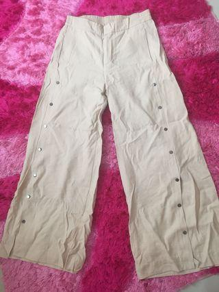 Side Pants in beige