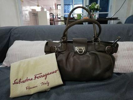 Ferragamo Leather Handbag