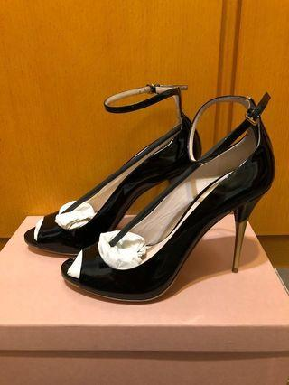 Miu Miu high heel open toe 高跟鞋 Chanel Tory Burch