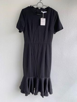 Brand new Ohvola black dress small US 4
