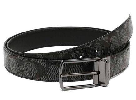 ✨Coach Men's Belt New Authentic BNWT