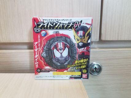 時王可聯動DX腰帶發聲 Drive錶盤SG01盒蛋 Zi-O 幪面超人 Ridewatch Kamen Rider