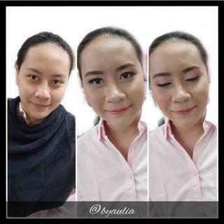 Soft makeup for wisuda