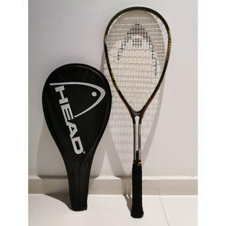 Head Mg Magnesium MG 200 Carbon 3000 Squash Racket with cover