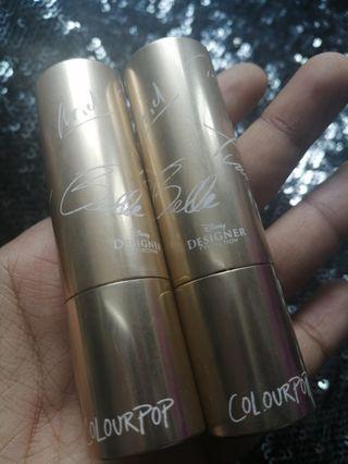 Colourpop Disney Designer Collection Lipsticks