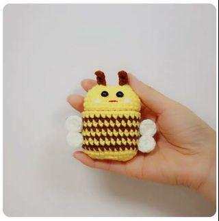 Bee Airpod Casing Handmade