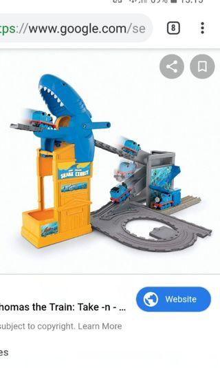 Fisher Price Thomas the Train: Take -n - Play Shark Exhibit