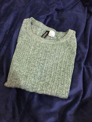 ♻️[二手] H&M 短袖短版上衣
