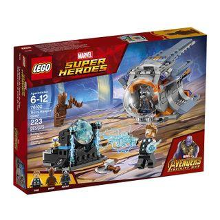 🚚 Lego 76102 Marvel Super Heroes Thor's Weapon Quest