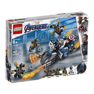 🚚 Lego 76123 Marvel Avengers Captain America: Outriders Attack