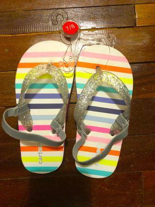 Carter's little girl sandals #junetogo