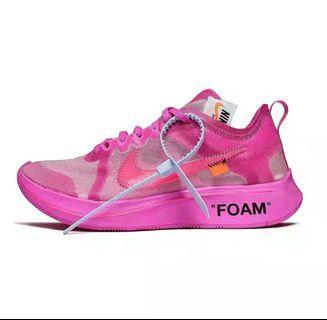 WTB WTB WTB 徵Off-White x Nike Zoom pink